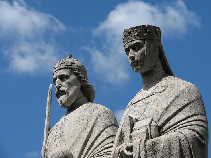 Hungarian King Saint Stephen and Queen Isabelle, Veszprém