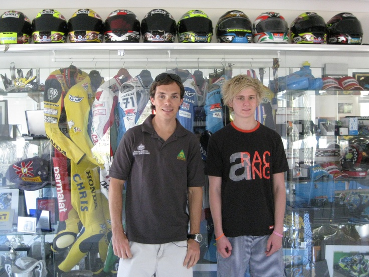 Chris Vermeulen and Brad Shaw 2011