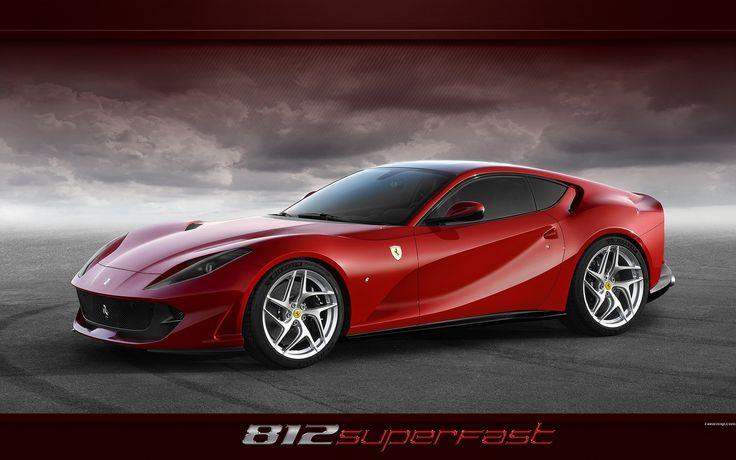 Fond d'écran voiture Ferrari 812 superfast