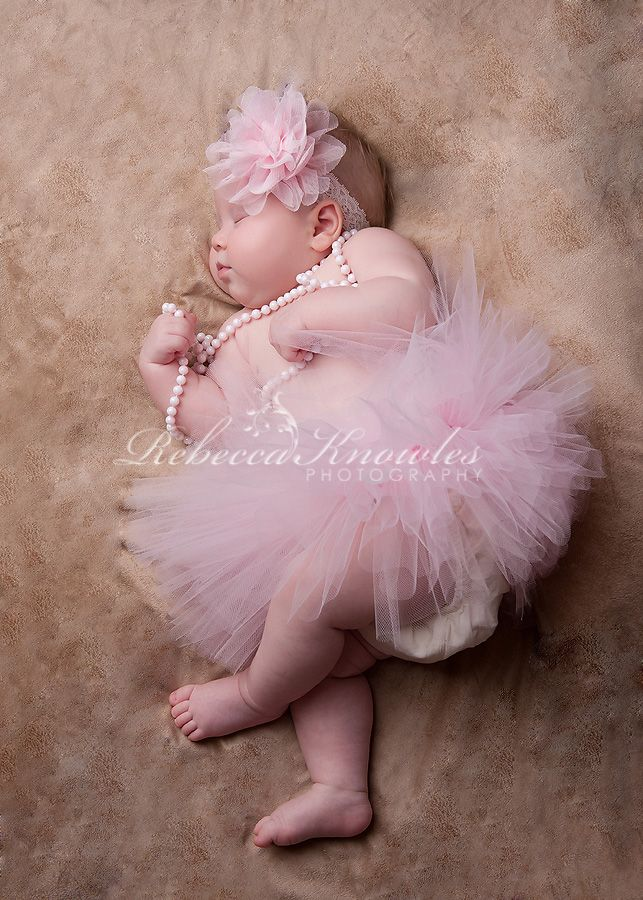 Ballerina baby portraits Knowles Portrait Design Rebecca Knowles Photography