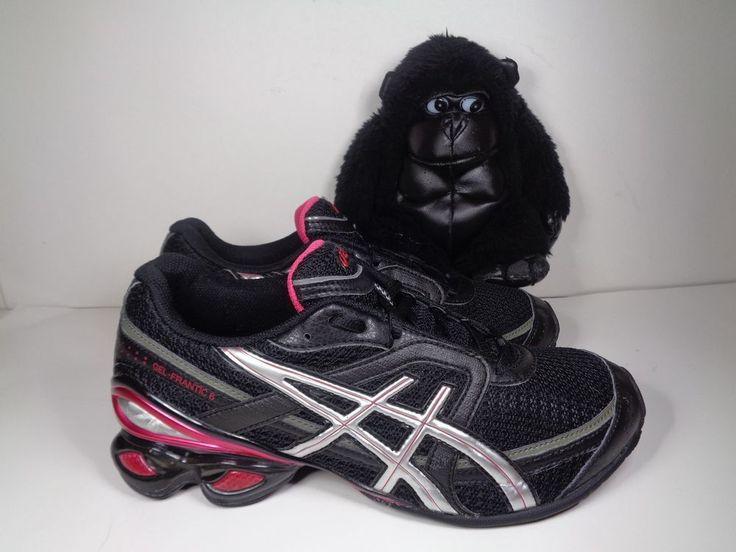 Womens Asics Gel Frantic 6 Running Cross Training shoes size 8.5 US T1E5N #ASICS #RunningCrossTraining