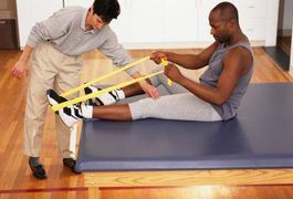 Your tibia and fibula are the bones of your lower leg. They can become fractured due to contact sports, motor vehicle accidents, tripping or falling from heights. Treatment for a broken tibia and fibula may include surgery, a cast or crutches. Exercising and staying in shape with a broken leg can present a big challenge. To exercise with a broken...