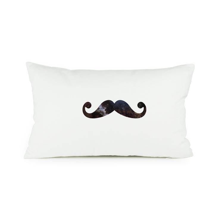 Mr. Moustache Cute Pillow