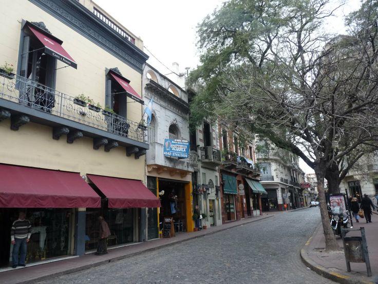 Calle en San Telmo, BA