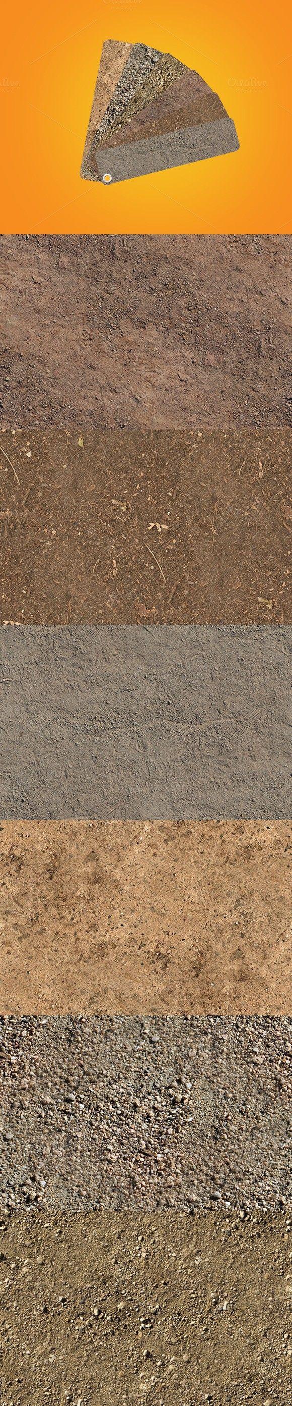 6 HD Seamless Dirt Textures. Textures. $23.00