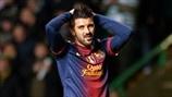 David Villa (FC Barcelona)   FC Barcelona 1-2 Celtic. 07.11.12.
