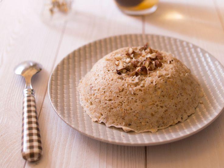 Découvrez la recette Bowl cake à la banane sur cuisineactuelle.fr.