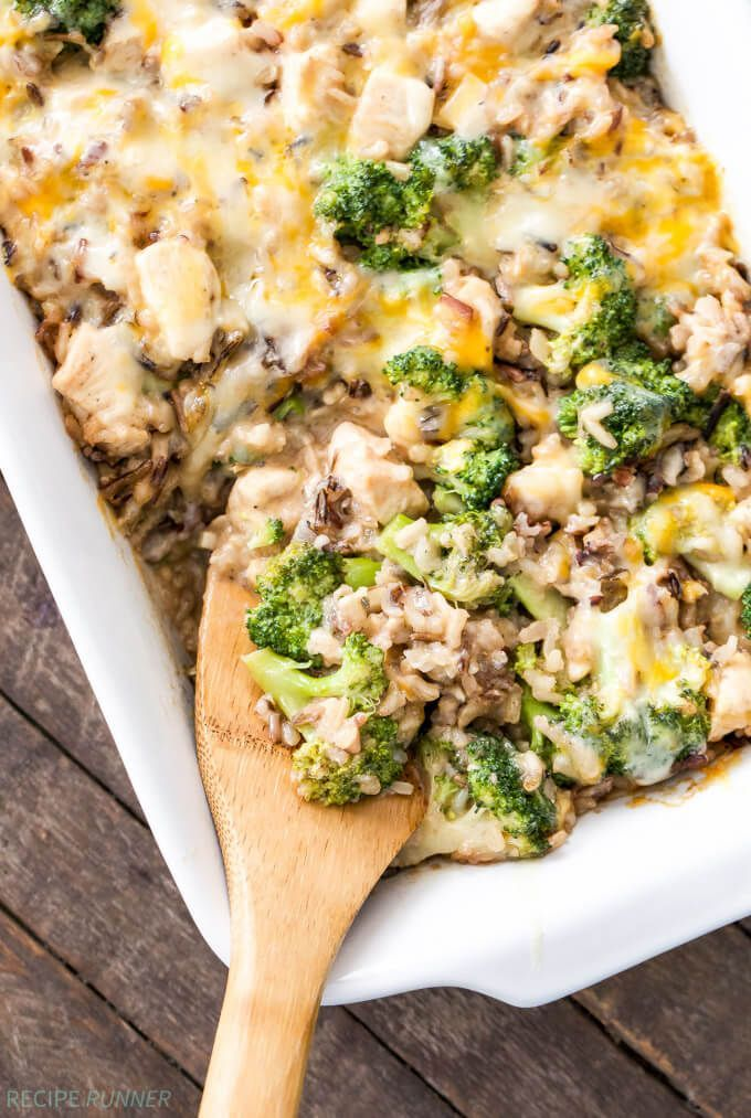 Healthy Weekly Meal Plan 12.3.16! A healthy weekly meal plan featuring Broccoli Chicken and Cheese Wild Rice Casserole, Pasta e Fagioli, One Pot Creamy Sausage Roasted Red Pepper Pasta and more!