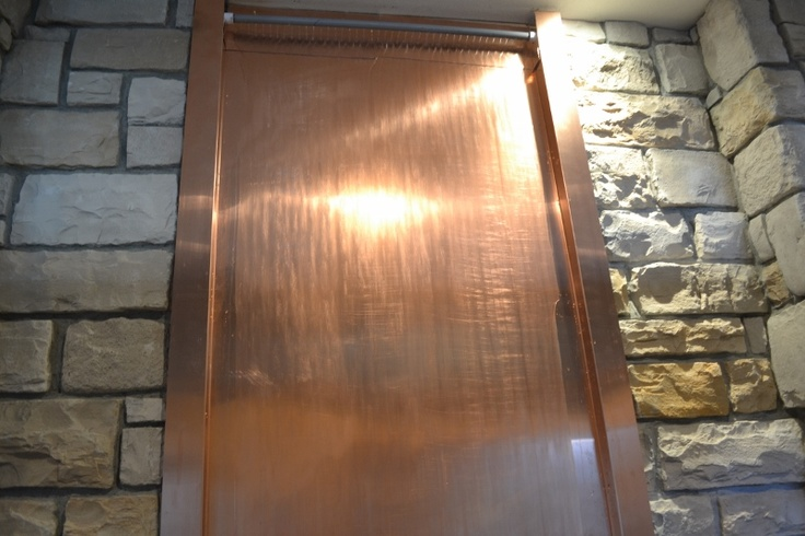 Copper Sheet Waterfall Sheet Metal Pinterest Copper