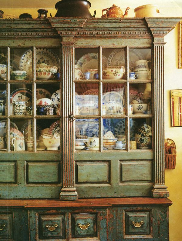 El Estilo Toscano. Los Muebles.