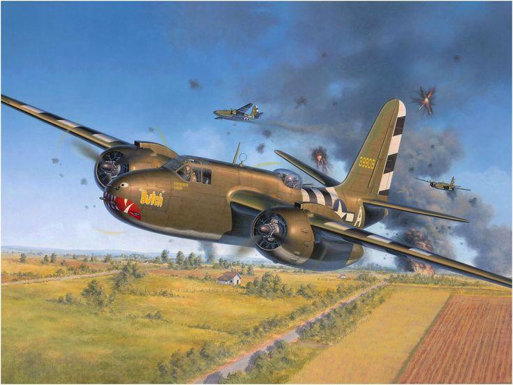 Douglas A-20 Havoc «Butch» sobre los cielos de Normandía. Egbert Friedl. http://www.elgrancapitan.org/foro/viewtopic.php?f=52&t=17924&p=914489#p913856