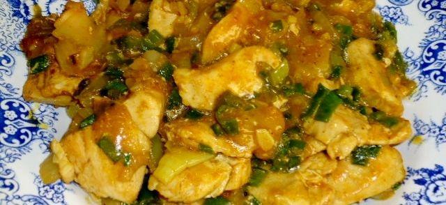 Kipkerrie Met Chinese Invloeden recept   Smulweb.nl