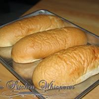 Soft and chewy hoagie roll recipe and it's amazing and omgsogood! We just made sandwiches with this homemade bread :)