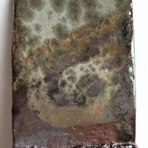 Category: Glaze, Shino, Carbon Trap, Author: Clara Giorello, Notes: