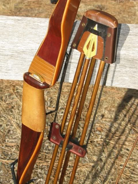 recurve bow and mounted quiver | Bows | Pinterest | Quiver ...