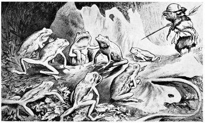 Theodor Kittelsen Krigen mellom froskene og Musene