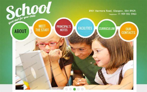 30 Free and Premium School, Education Website Templates HTML