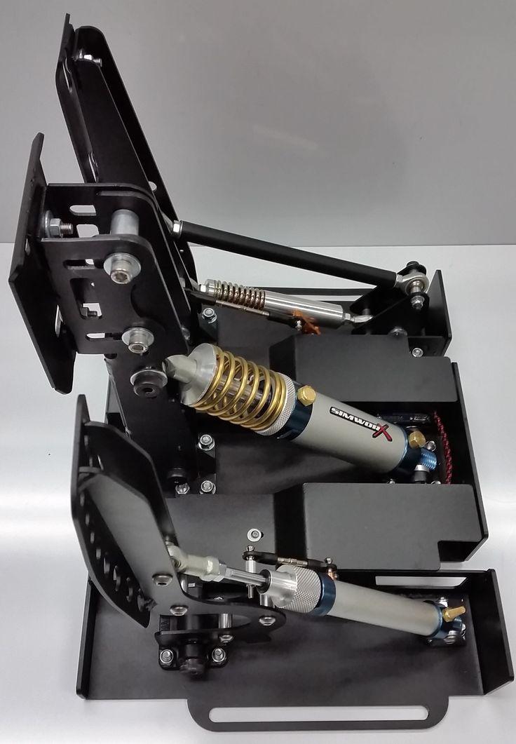 Simworx Pro GT V2 Pedal Set  SIMRaCInG  Pinterest