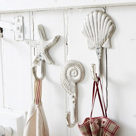 nickle silver nautical hooks set of 3