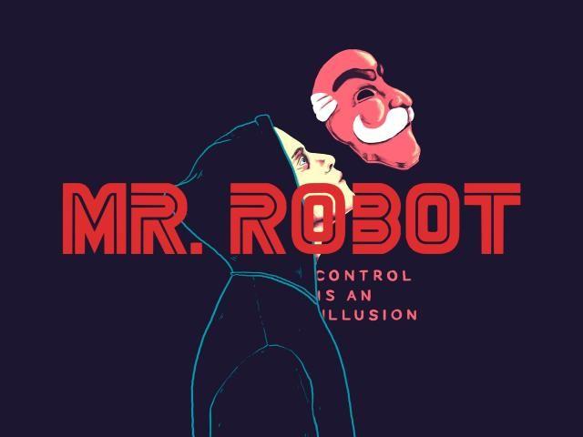 Control Is An Illusion Mr Robot Elliot Robot Wallpaper Mr Robot Robot Illustration