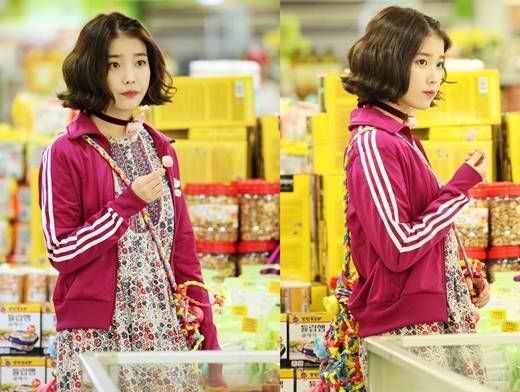 "Update On ""Pretty Man"": IU Looks Adorable In Her Uniform And 4D Outfit"