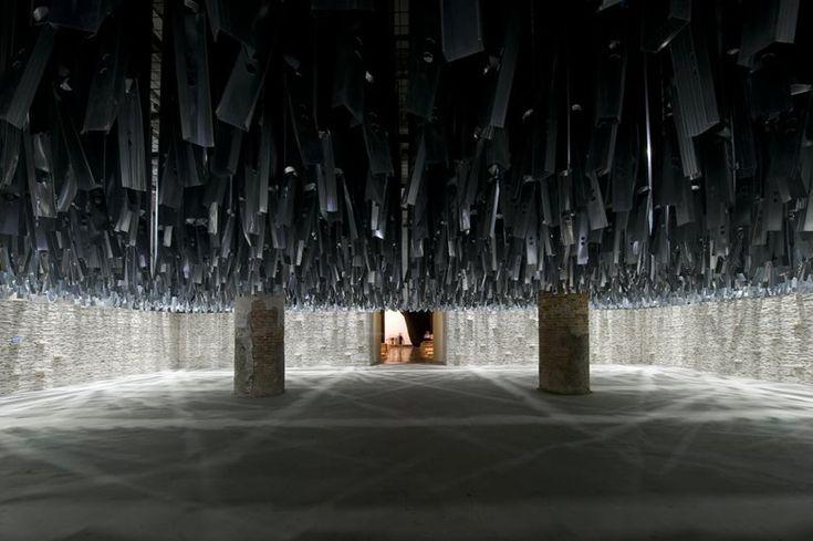 Corderie dell'Arsenale - Biennale di Venezia 2016, Venice, 2016 - Moreno Maggi