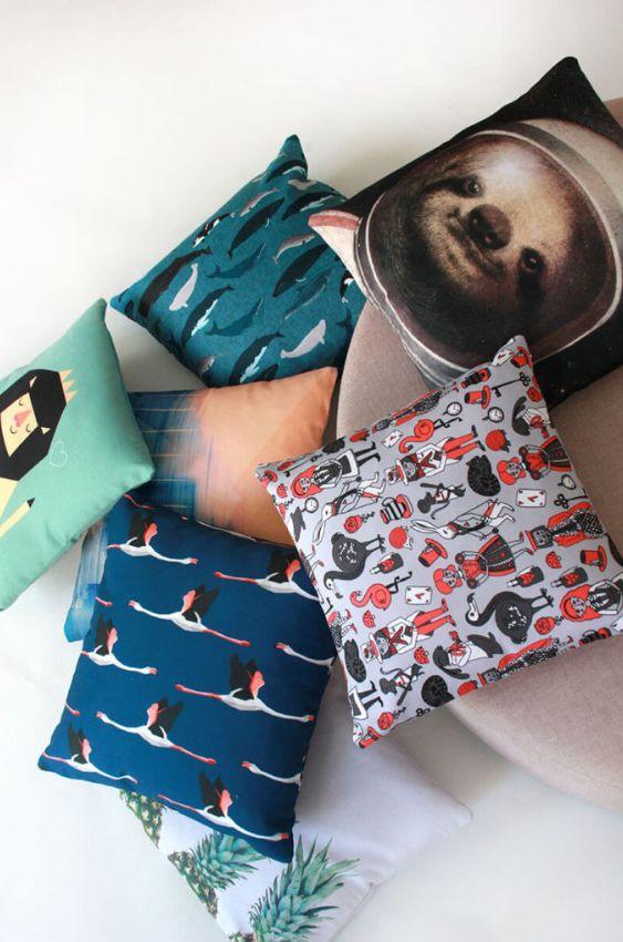 Kissenschlacht mit Kissen von Redbubble | Druck | Prints| bunt | Wohnen | Deko | Shoppen | Einrichten