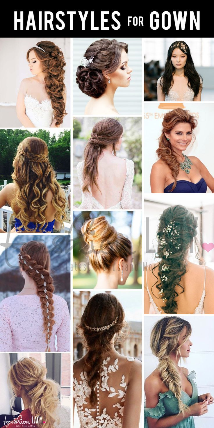 Hairstyles Best Hairstyles Ideas Different Hairstyles For Gowns In An Effort To Make Things Simpler Hairstyles For Gowns Ball Hairstyles Party Hairstyles