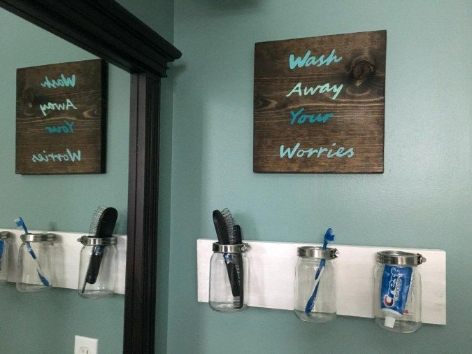 Wall Ideas Teal Wall Decorations Teal Wall Art Live Laugh Love Hobby Lobby Bathroom Decor Rustic Bathroom Wall Decor Anchor Bathroom Decor Bathroom Art Diy