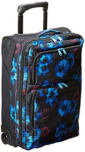 #Dakine 8350100 WM CARRY 36L #Sac de #voyage a roulette #Femme Blue #Flowers 54 x 33 x 26 cm #Bagages #Valise