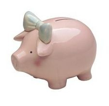 bleach bottle piggy bank: Piggy Bank