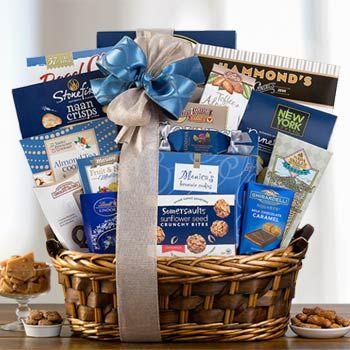 Gourmet Kosher Gift Basket. See more gifts at www.pro-gift-baskets.com!