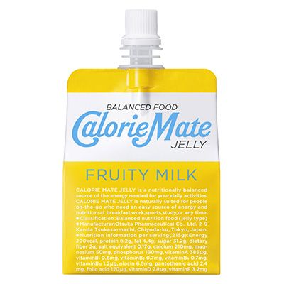 カロリーメイト ゼリー <フルーティ ミルク味> - 食@新製品 - 『新製品』から食の今と明日を見る!