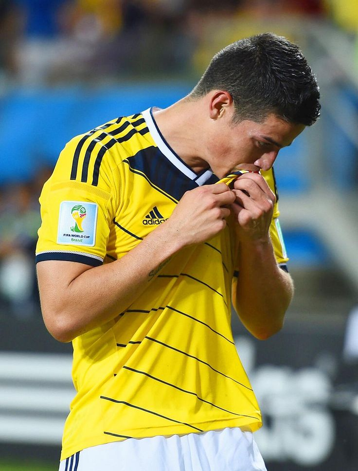 James Rodriguez Colombia Mundial 2014