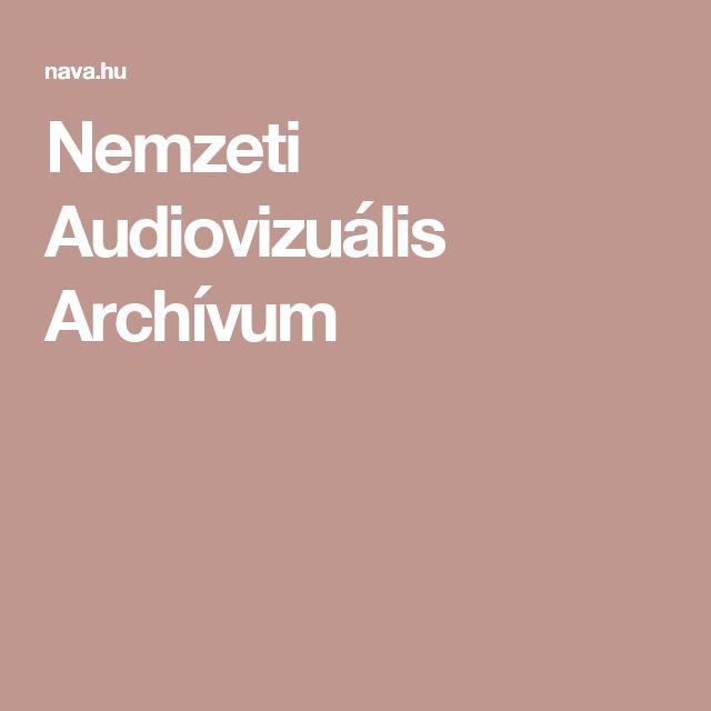 Nemzeti Audiovizuális Archívum