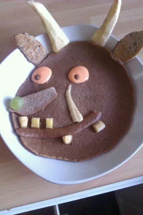 Yummy Gruffalo pancake!