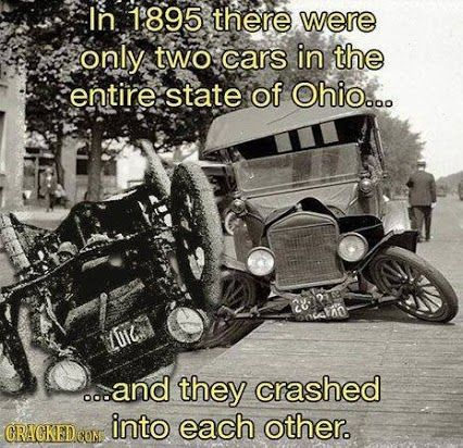 Cheap Car Insurance In Ohio >> Throwback Thursday   Cars in Ohio in 1895   From Funny ...