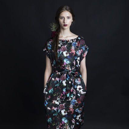 Secret Garden-mekko vyöllä | Weecos