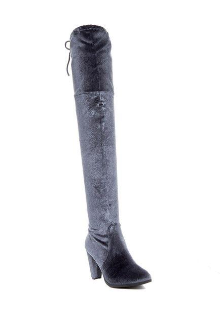 Catherine Catherine Malandrino Velva Faux Fur Lined Tall Boot