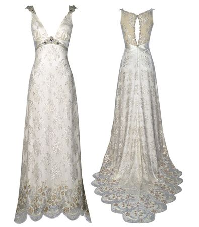 find this pin and more on embellished wedding dresses old hollywood