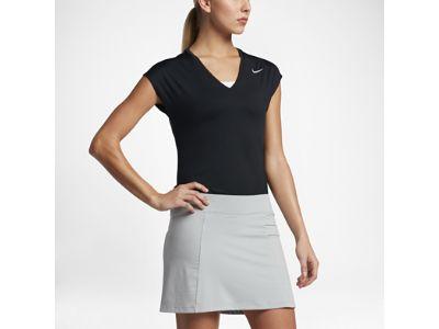 4190-Женская футболка для гольфа с коротким рукавом Nike Dry