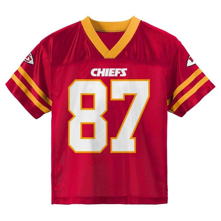 Kansas City Chiefs Boys' Travis Kelce Jersey - Team Color XS, Boy's, Multicolored