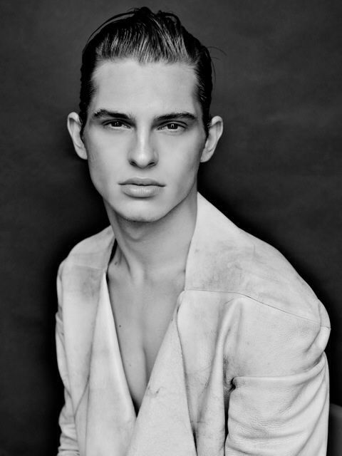 #model #male #hair # editorial #makeup #grooming #fashion #photoshoot