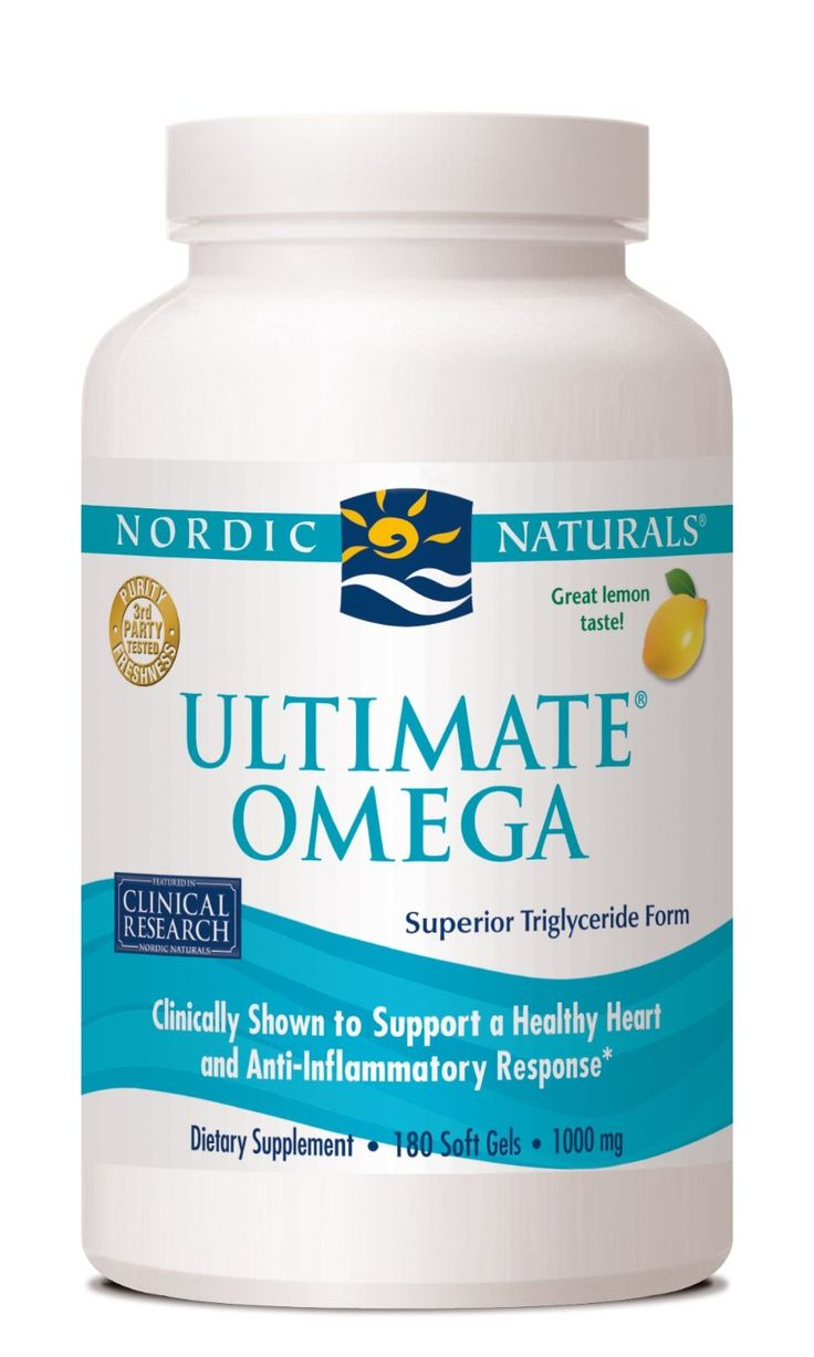 Nordic naturals is one of the most respected brands of for Best fish oil supplement brand