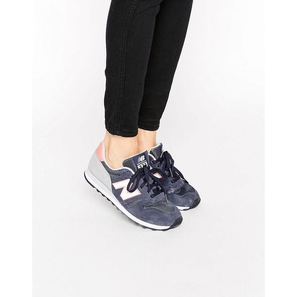 New Balance Sneakers in Marine und Rosa