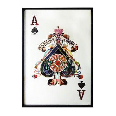 Obraz przestrzenny Ace Spades to nie tylko obraz do salonu, ozdoba do kuchni czy dekoracja sypialni, ale i wyjątkowy prezent dla twoich bliskich.