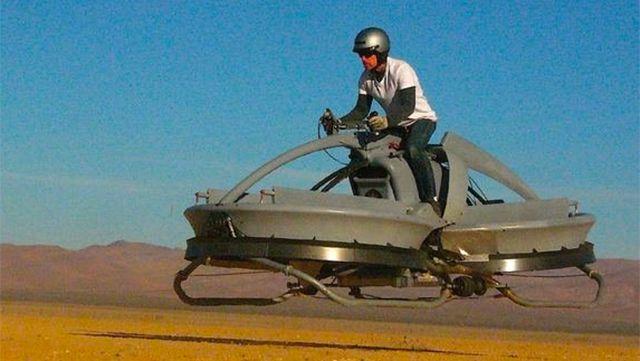 They Finally Made a Flying Star Wars Speeder Bike!