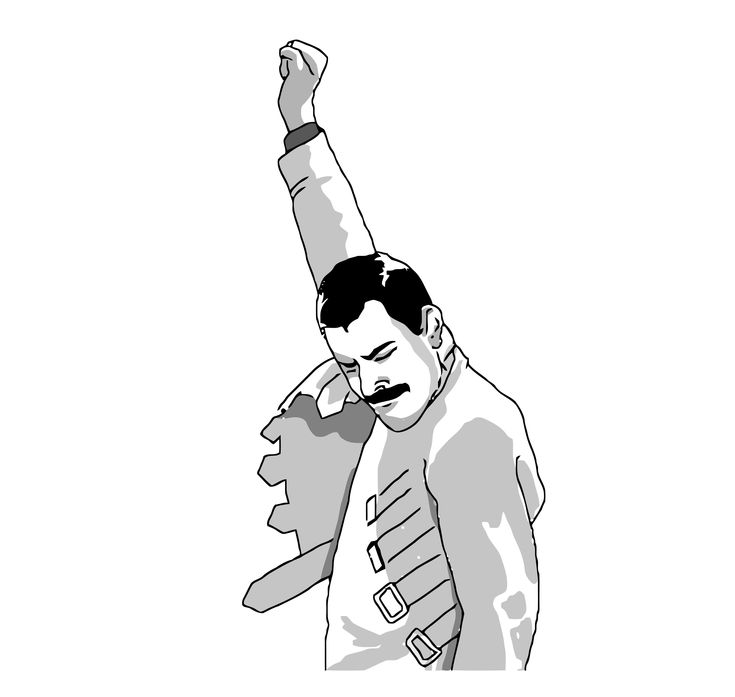Freddie Mercury face meme on All The Rage Faces!