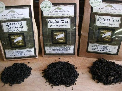 Russian Caravan Tea  1 part Lapsang Souchong  1 part black tea (English Breakfast, Assam, Ceylon   2 parts Oolong tea