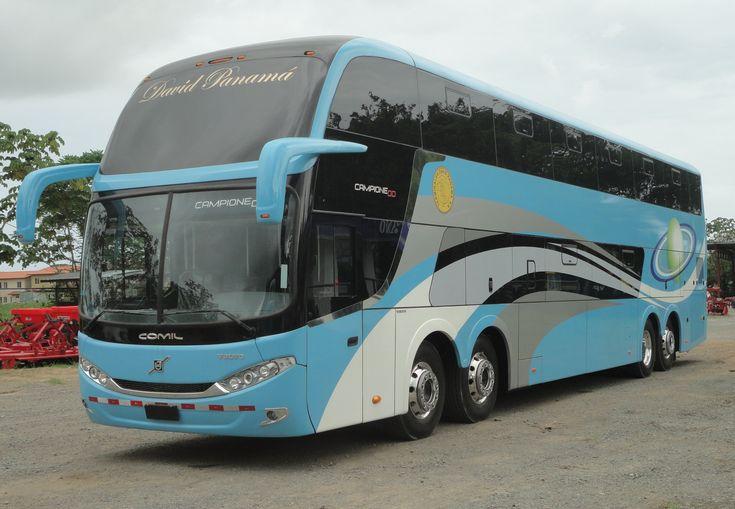 Ônibus Comil na Caravana Volvo